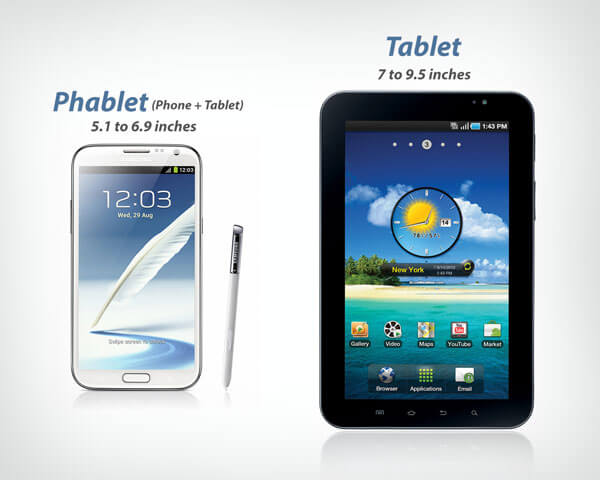 Difference Between Phablet And Tablet